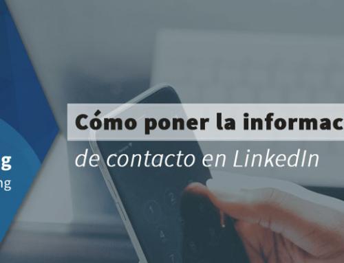 Cómo poner la información de contacto en LinkedIn