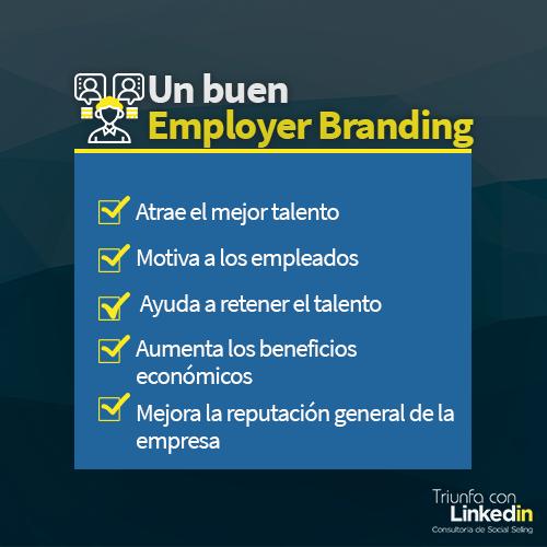 Ventajas de un buen employer branding - Infografía