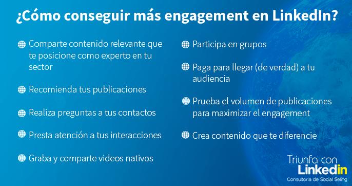 engagement linkedin