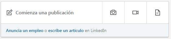 Nuevas publicaciones LinkedIn