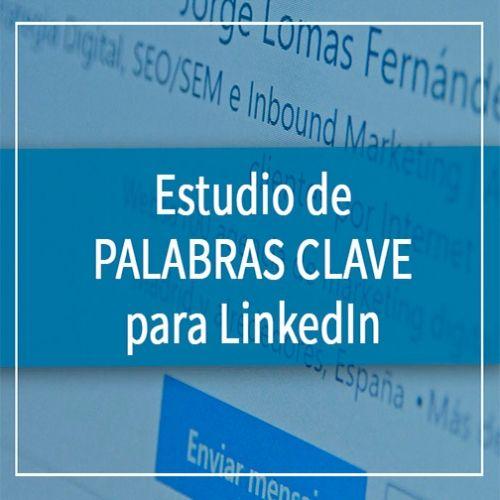 Estidio de palabras clave para LinkedIn