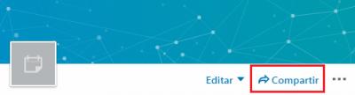 Cómo crear un evento en LinkedIn - Opciones Editar y Compartir evento - Compartir
