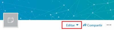 Cómo crear un evento en LinkedIn - Opciones Editar y Compartir evento - Editar