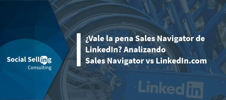 sales navigator y linkedin